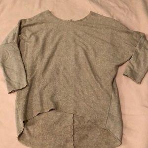 Oatmeal tunic sweater